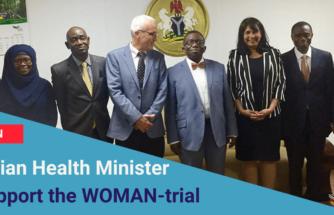 WOMAN TRIAL TRANEXAMIC ACID RESEARCH TXA CLINICAL TRIAL PPH MATERNAL WOMEN HEALTH